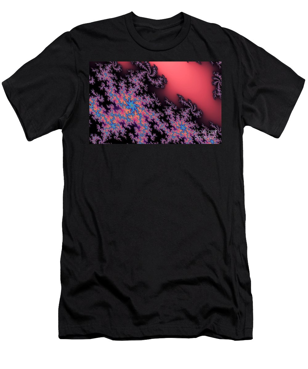Clay Men's T-Shirt (Athletic Fit) featuring the digital art Galaxies by Clayton Bruster