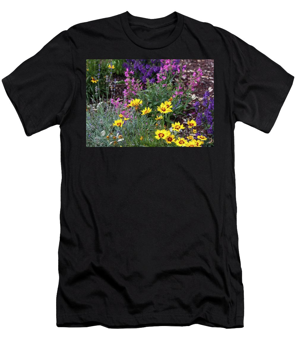 Photograph Men's T-Shirt (Athletic Fit) featuring the photograph Garden Delight by Suzanne Gaff