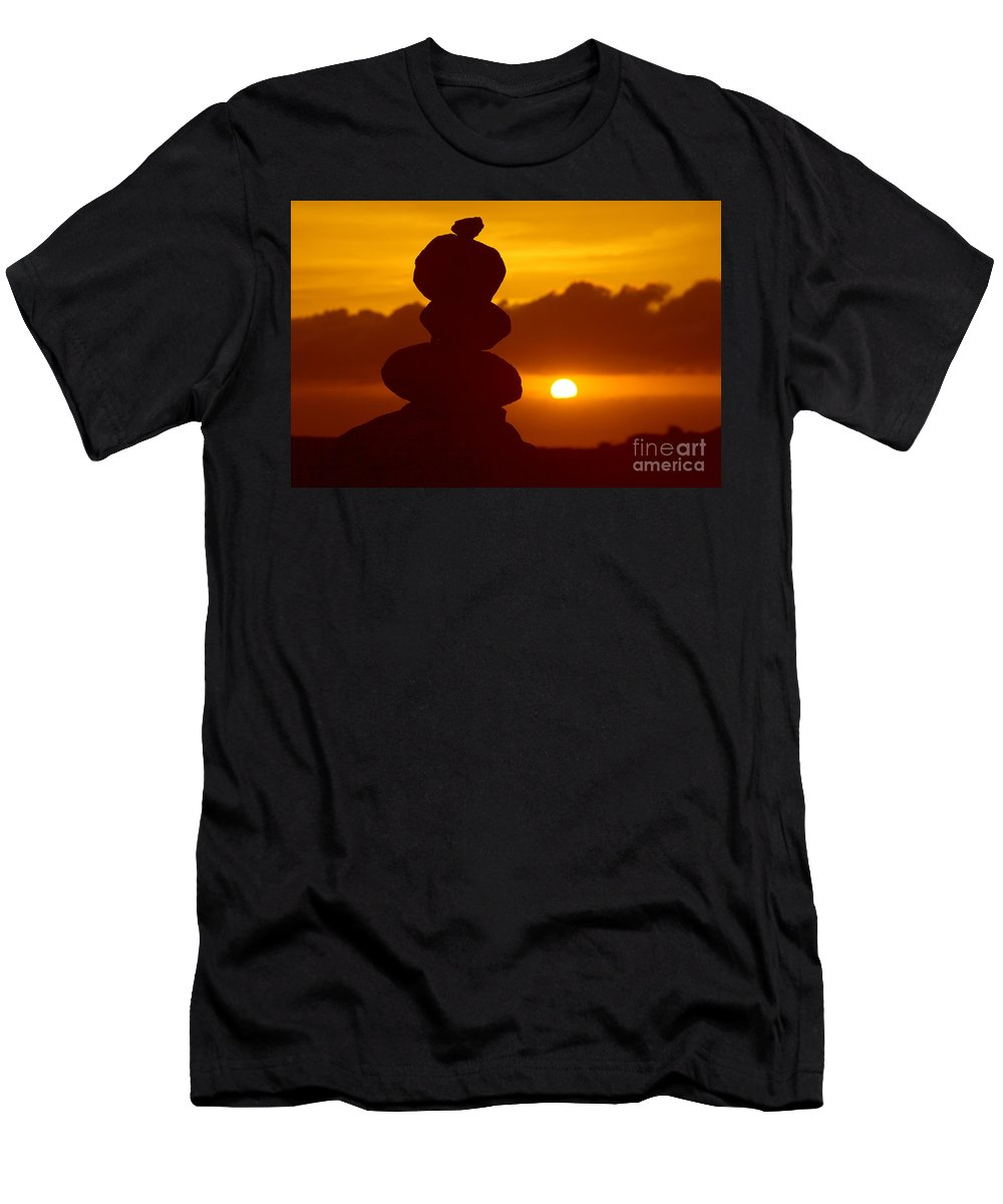 Ancient Men's T-Shirt (Athletic Fit) featuring the photograph Garden Of The Gods by Ron Dahlquist - Printscapes