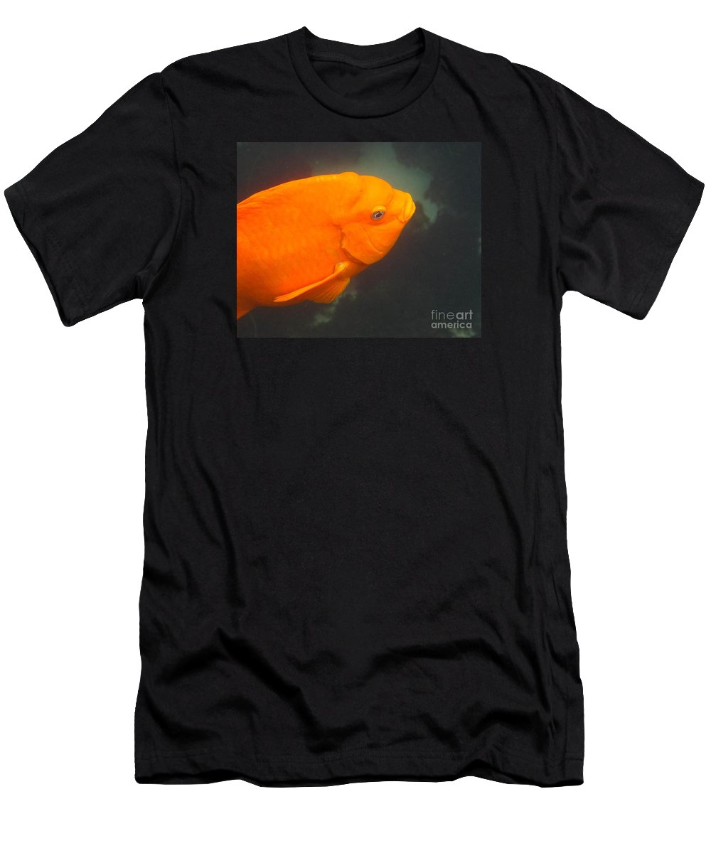 Garibaldi Men's T-Shirt (Athletic Fit) featuring the photograph Garibaldi by Marta Robin Gaughen