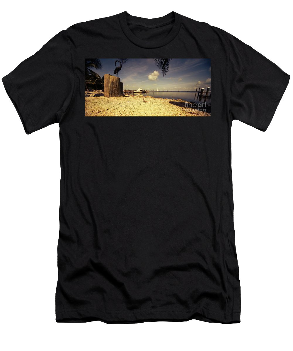 Gecko Men's T-Shirt (Athletic Fit) featuring the photograph Gecko Heaven by Rob Hawkins