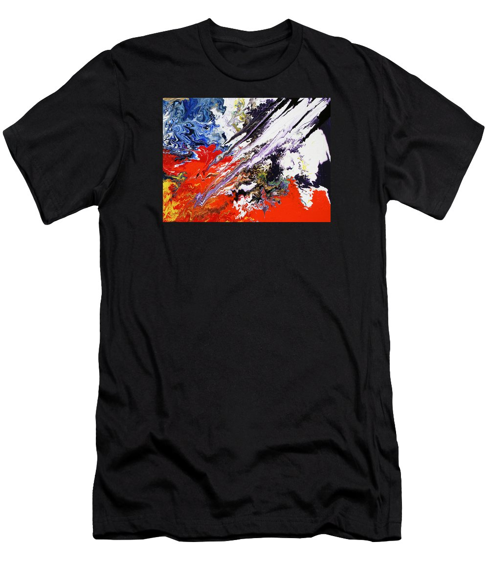 Fusionart Men's T-Shirt (Athletic Fit) featuring the painting Genesis by Ralph White