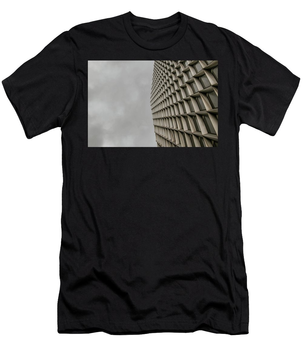 Architecture Men's T-Shirt (Athletic Fit) featuring the photograph Geometry 1 by Jessica Hamlyn