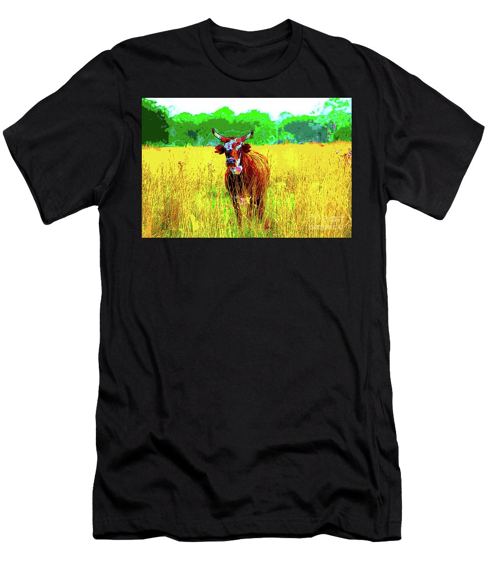 Gertrude Men's T-Shirt (Athletic Fit) featuring the photograph Gertrude by Keri West