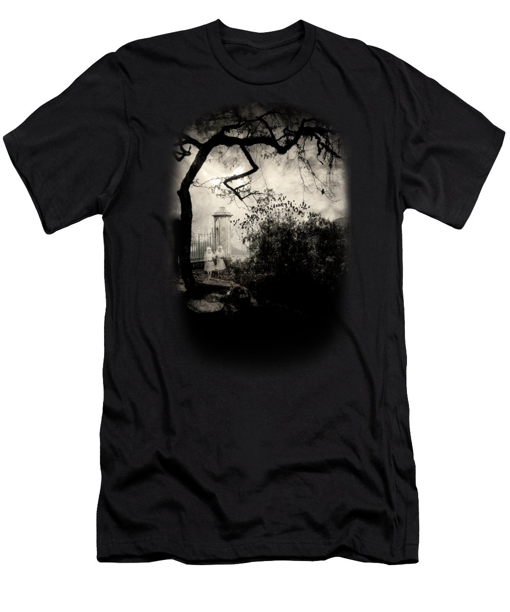 Ghosts Men's T-Shirt (Athletic Fit) featuring the photograph Ghost. by Joe Roberts