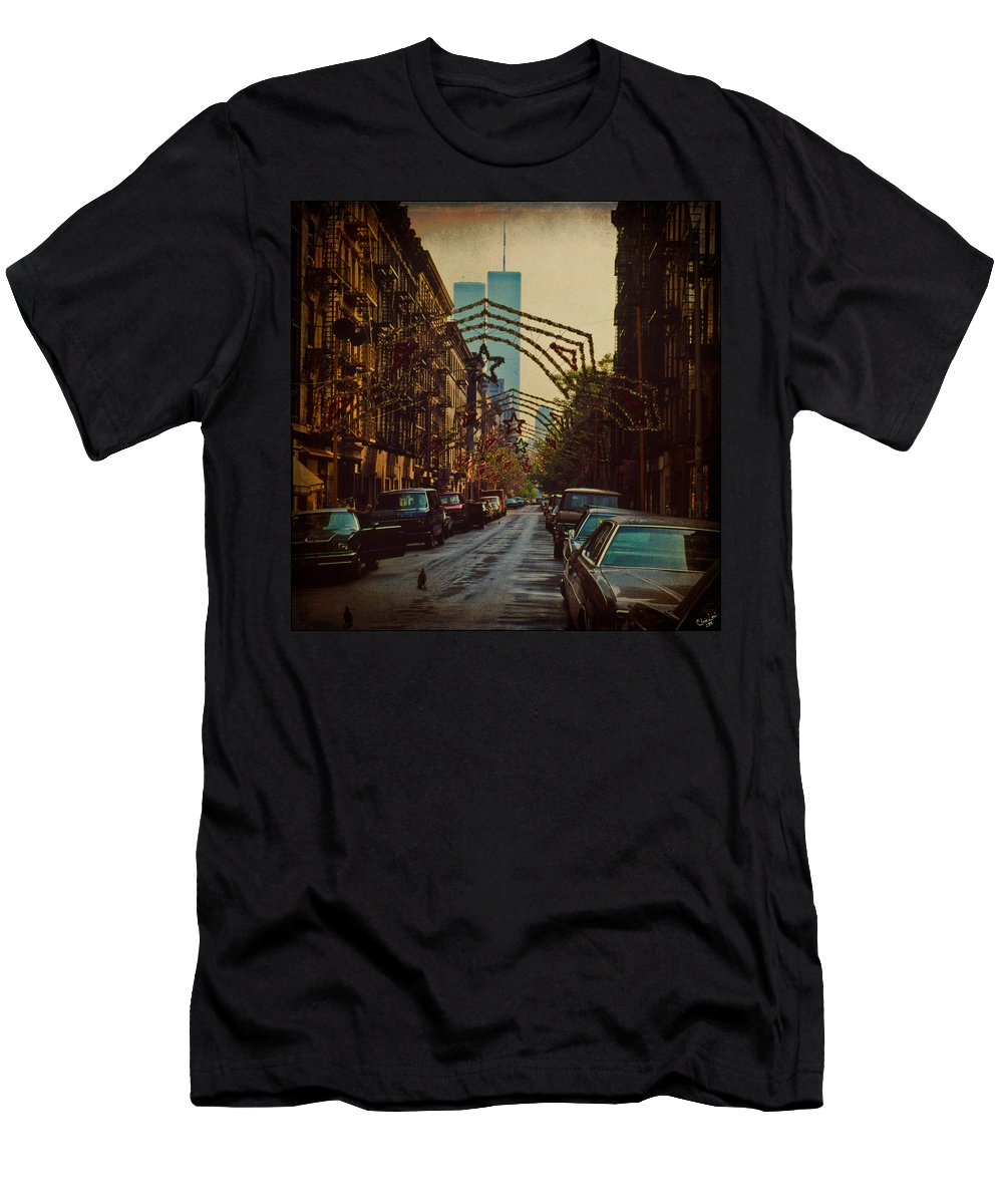 Ghosts Men's T-Shirt (Athletic Fit) featuring the photograph Ghosts by Chris Lord