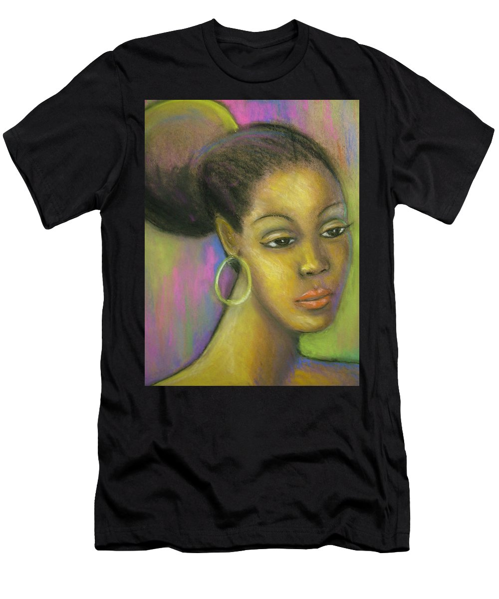 Drawing Men's T-Shirt (Athletic Fit) featuring the drawing Glisten by Jan Gilmore