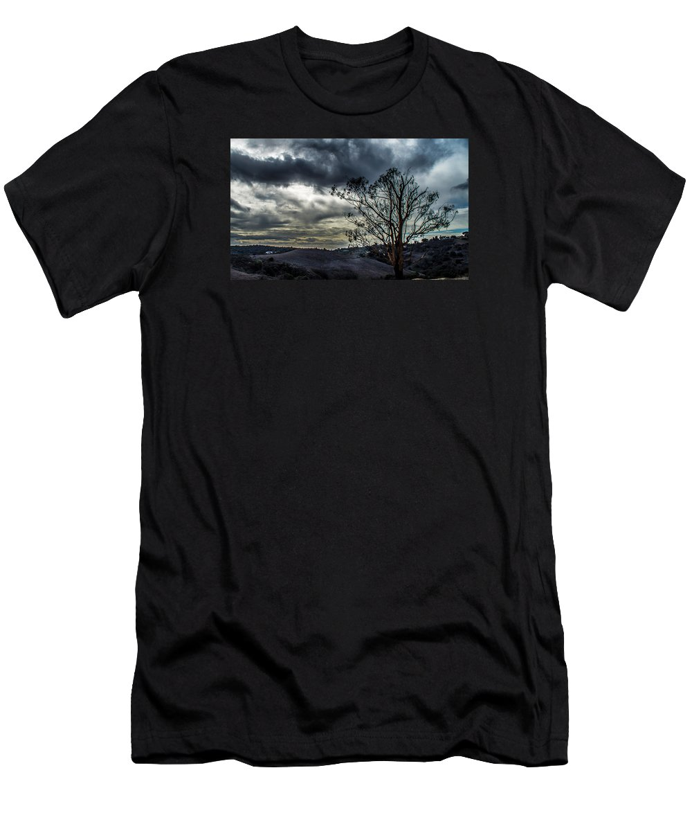 Gloomy Men's T-Shirt (Athletic Fit) featuring the photograph Gloomy Day by Hyuntae Kim