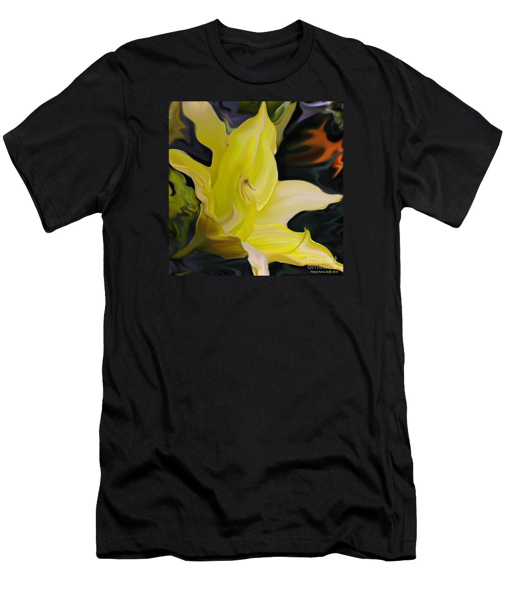 Fine Art Print Men's T-Shirt (Athletic Fit) featuring the painting Glory II by Patricia Griffin Brett