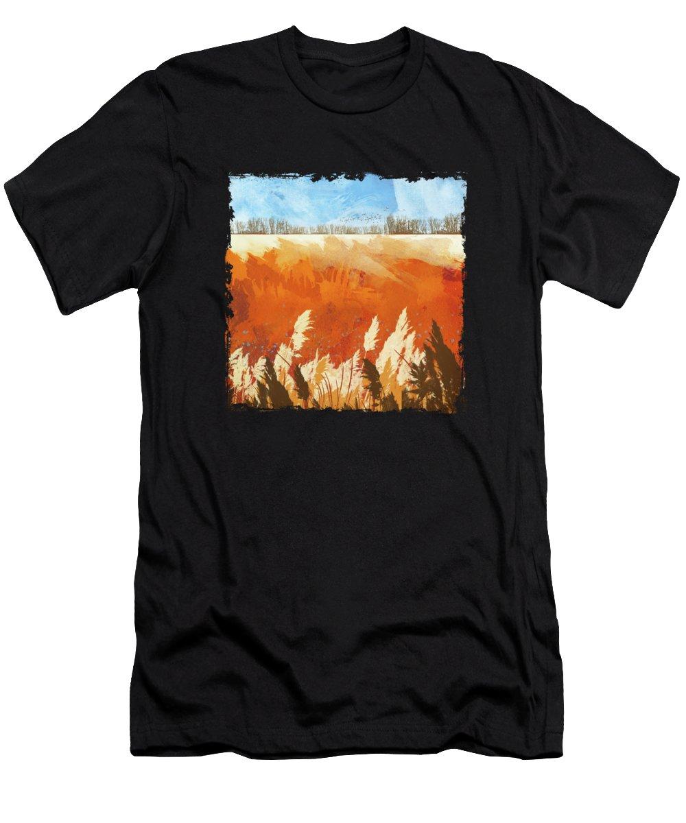 Golden Grass T-Shirts