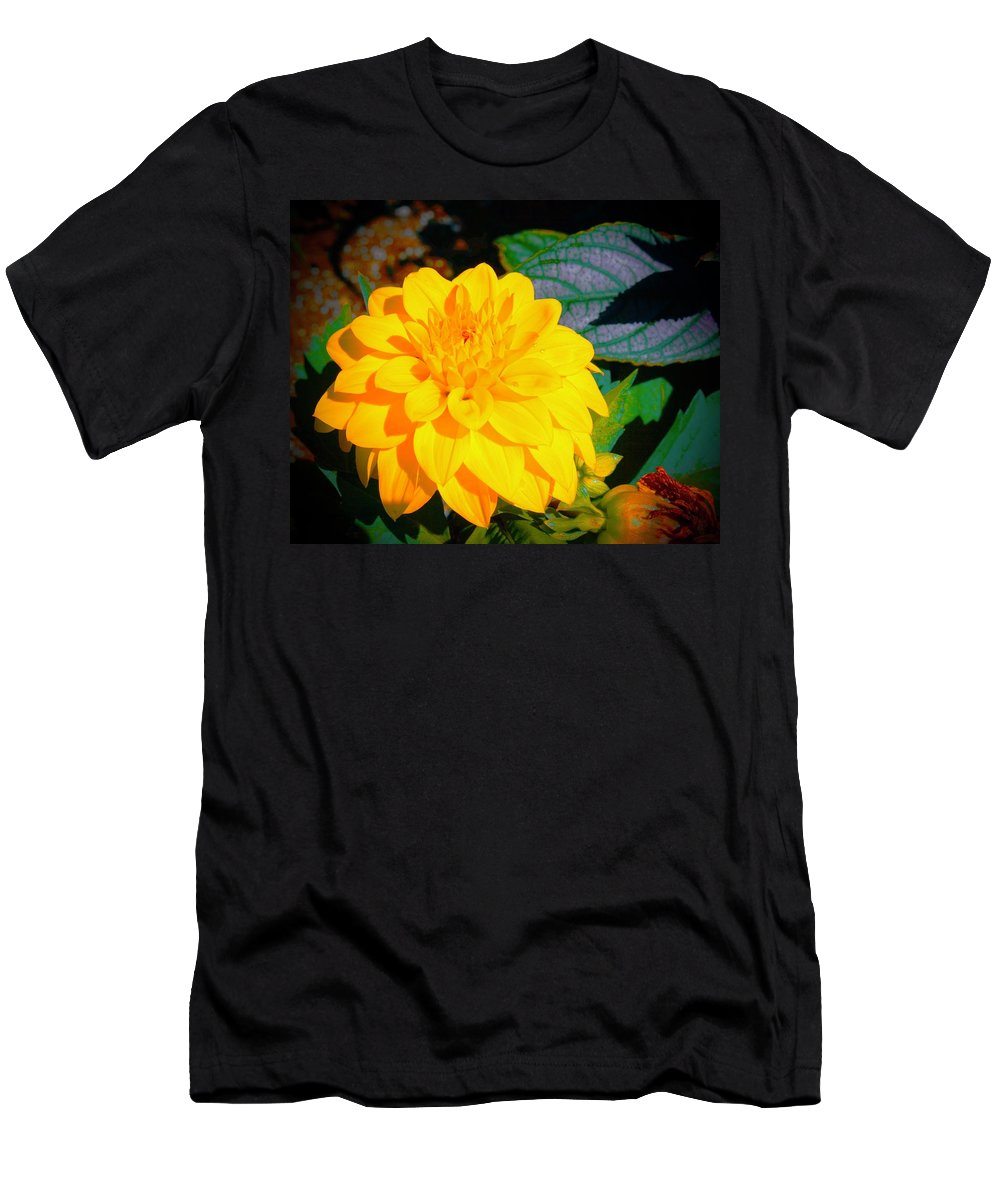 Morning Men's T-Shirt (Athletic Fit) featuring the photograph Golden Moment In The Morning by Tim G Ross