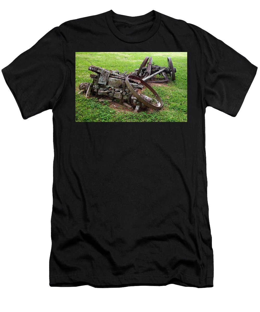 Photography Men's T-Shirt (Athletic Fit) featuring the photograph Gone Are The Days by Edmund Akers