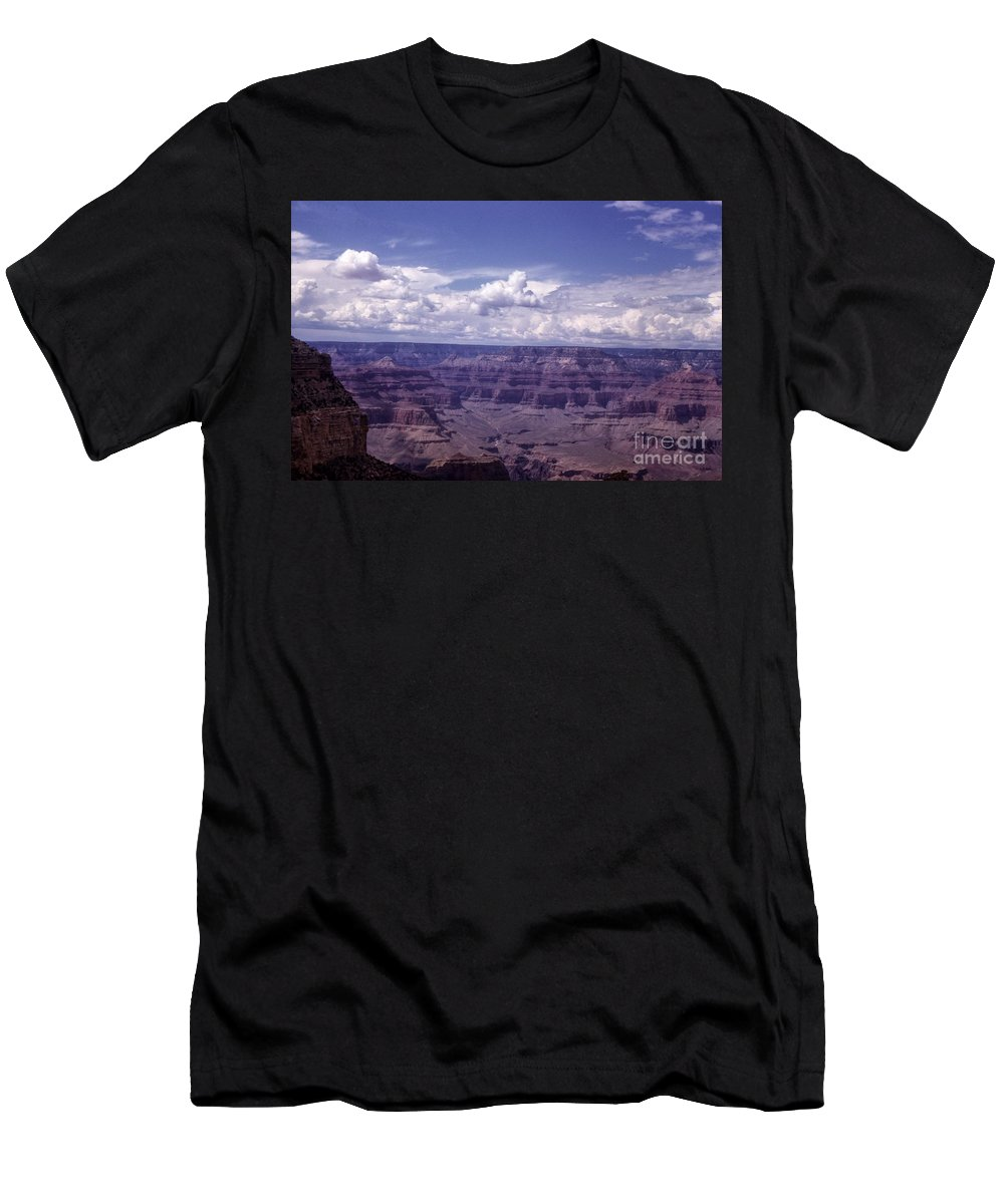 Landscape Men's T-Shirt (Athletic Fit) featuring the photograph Grand Canyon 54 by Noze P