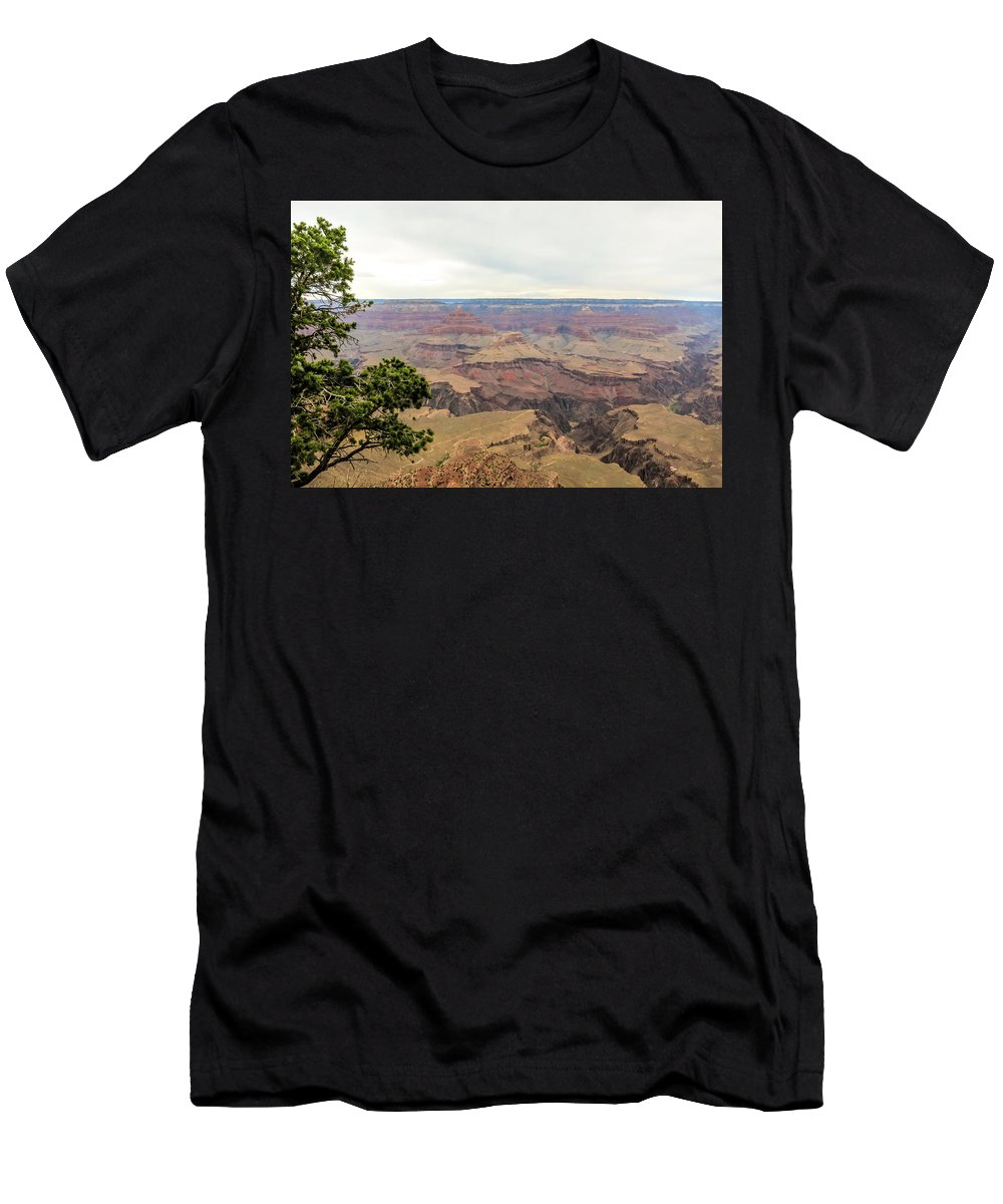 Grand Canyon No 2 Men's T-Shirt (Athletic Fit) featuring the photograph Grand Canyon No 2 by Phyllis Taylor