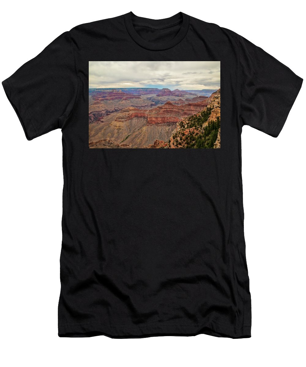 Grand Canyon Men's T-Shirt (Athletic Fit) featuring the photograph Grand Canyon by Phyllis Taylor