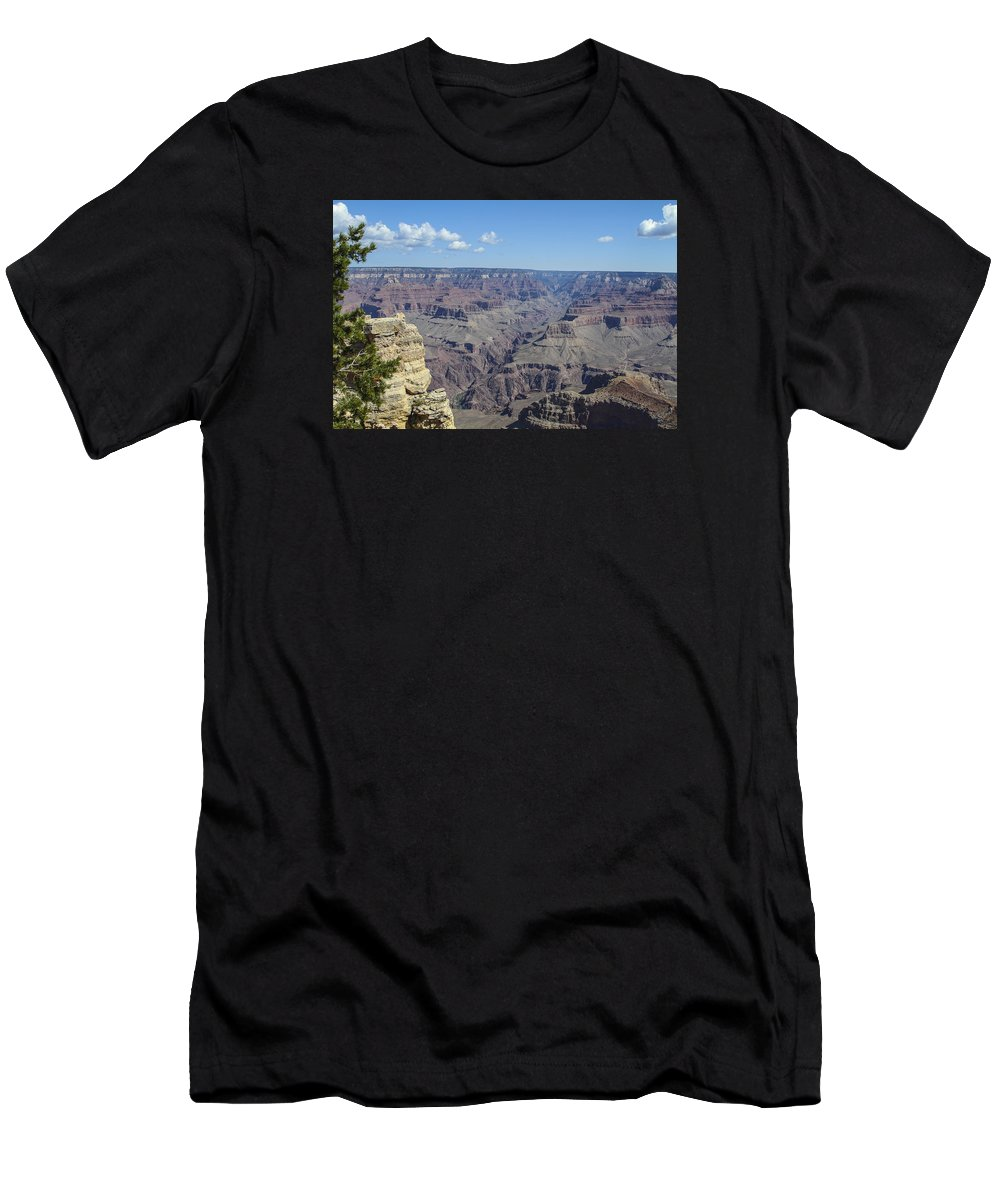Grand Men's T-Shirt (Athletic Fit) featuring the photograph Grand Canyon by Ronald Fleischer