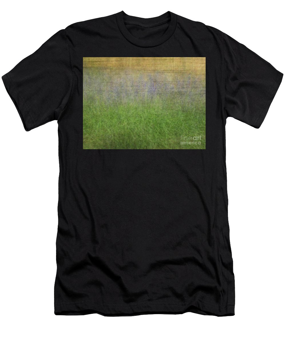 Impressionist Men's T-Shirt (Athletic Fit) featuring the photograph Grape Hyacinth by Robert Hauss