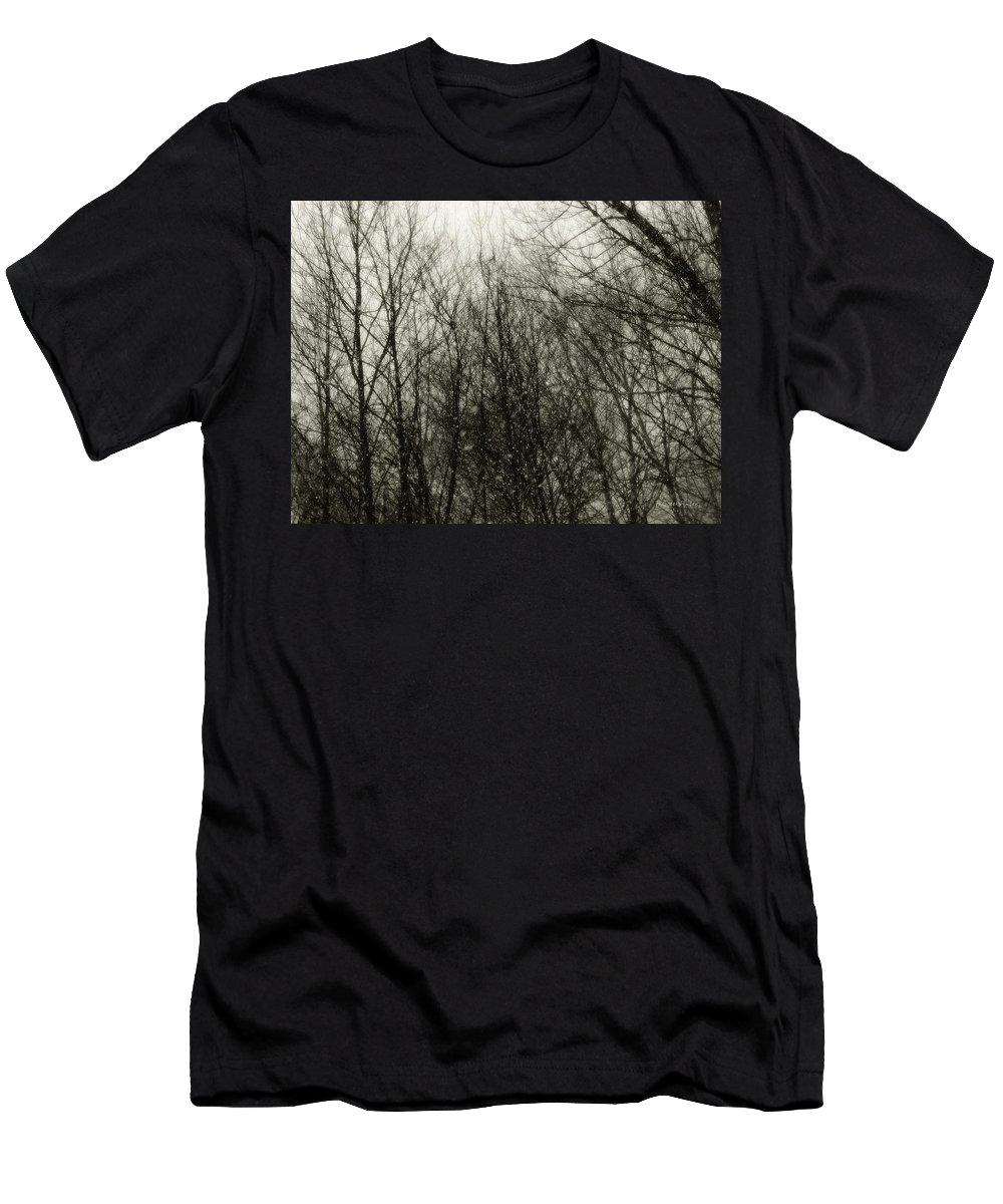 Connecticut Men's T-Shirt (Athletic Fit) featuring the photograph Gray Dawn by RC DeWinter