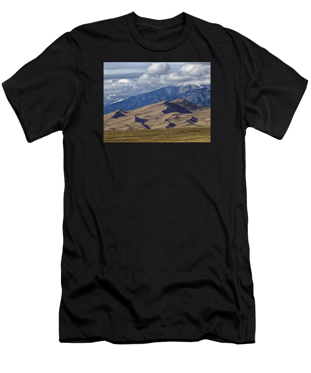 Sand Dunes T-Shirt featuring the photograph Great Sand Dunes by Alana Thrower