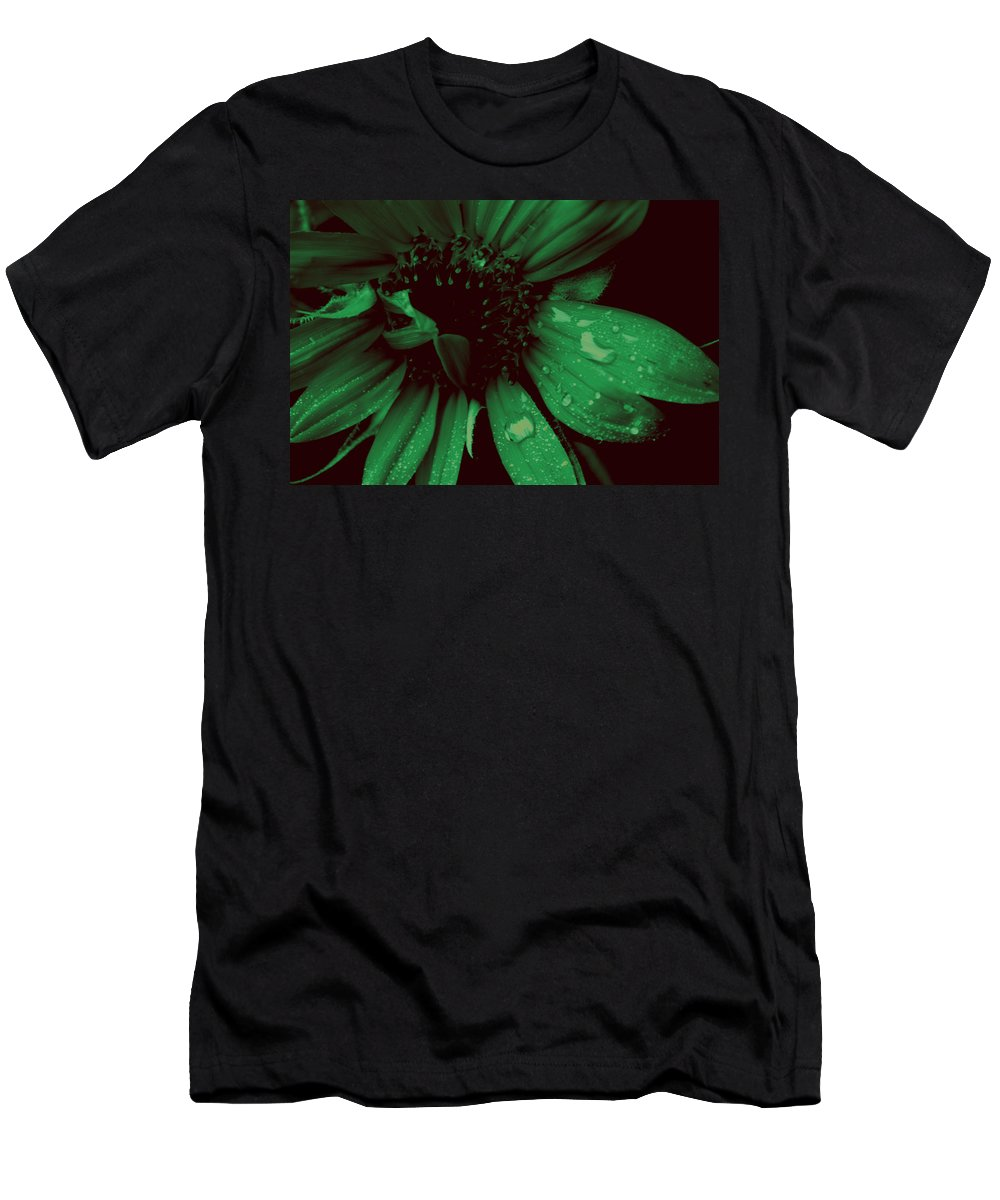 Green Men's T-Shirt (Athletic Fit) featuring the photograph Green With Envy by Donna Bentley