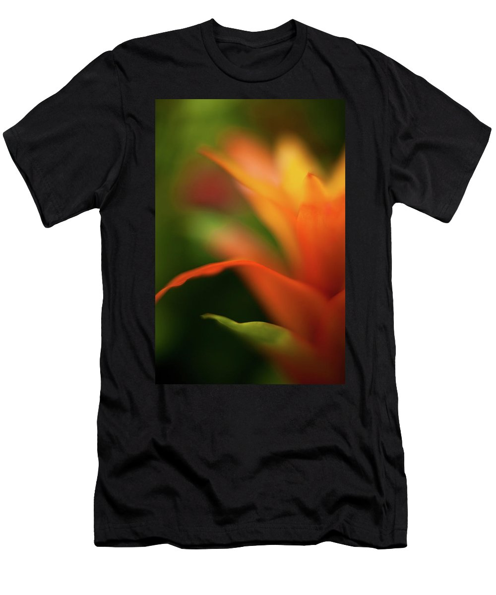 Succulent Men's T-Shirt (Athletic Fit) featuring the photograph Greenhouse Heat by Mike Reid