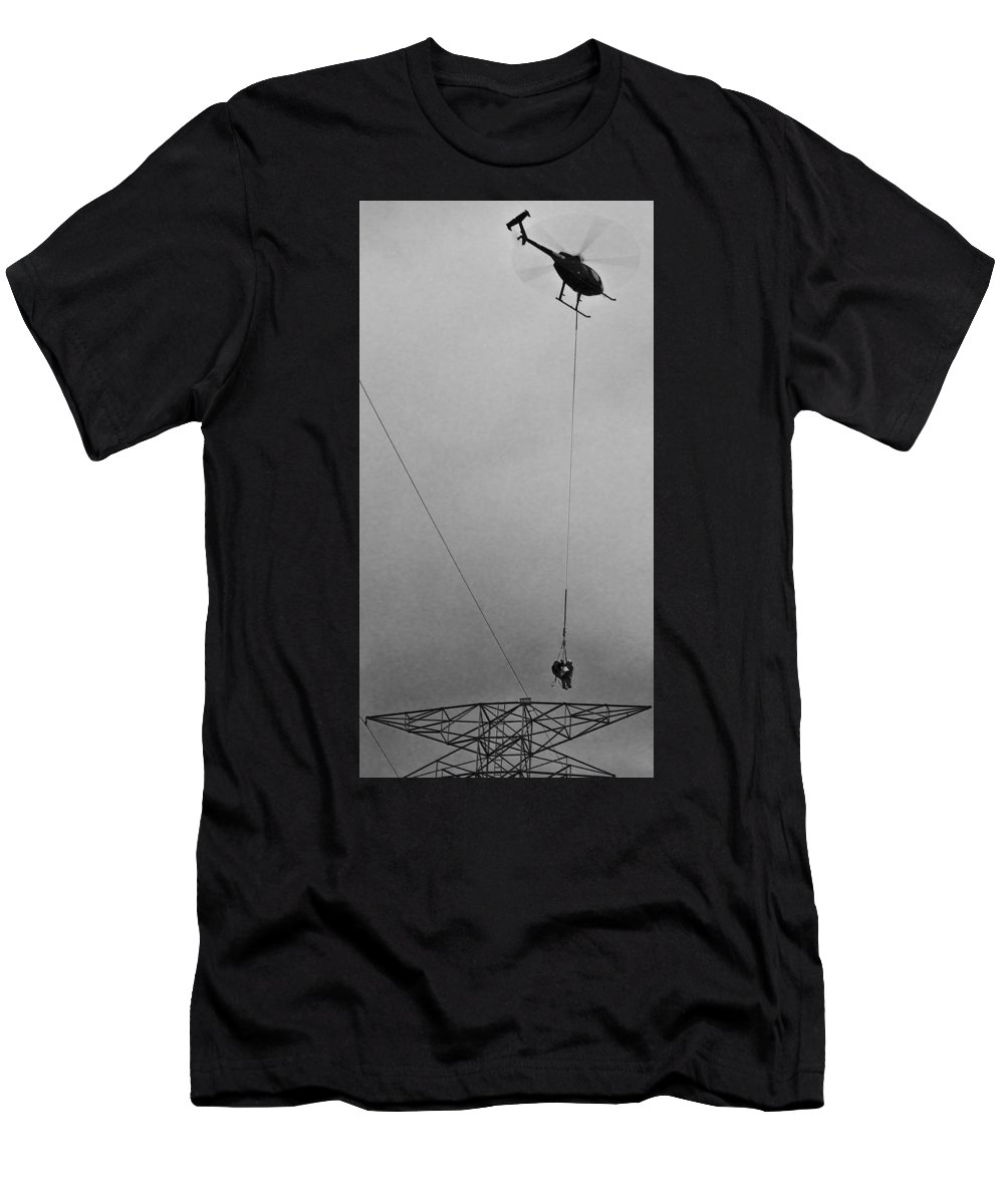 Men's T-Shirt (Athletic Fit) featuring the photograph h by David Kidwell II