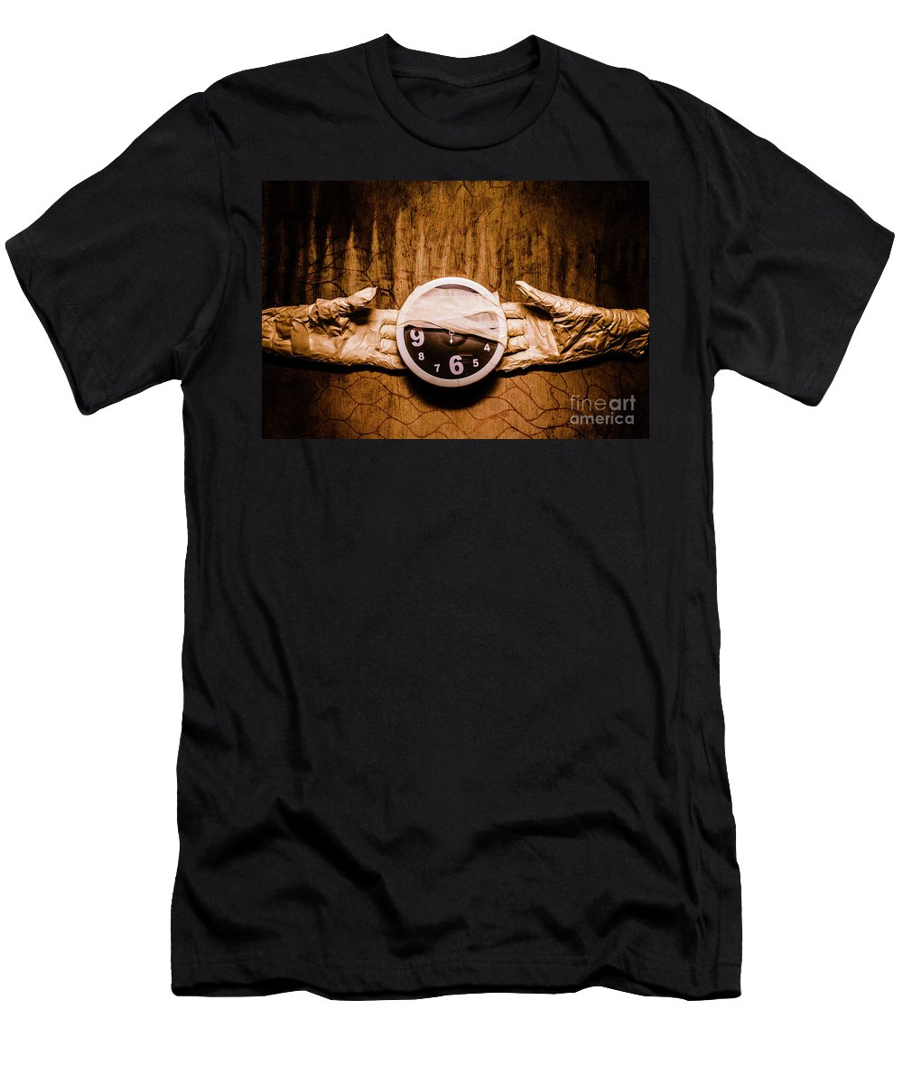 Halloween Men's T-Shirt (Athletic Fit) featuring the photograph Halloween Time by Jorgo Photography - Wall Art Gallery