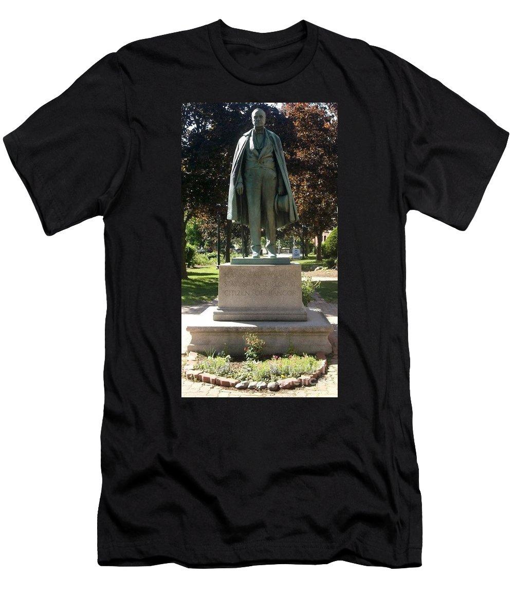 Bangor Men's T-Shirt (Athletic Fit) featuring the photograph Hannibal Hamlin by Studio Two Twenty - Four