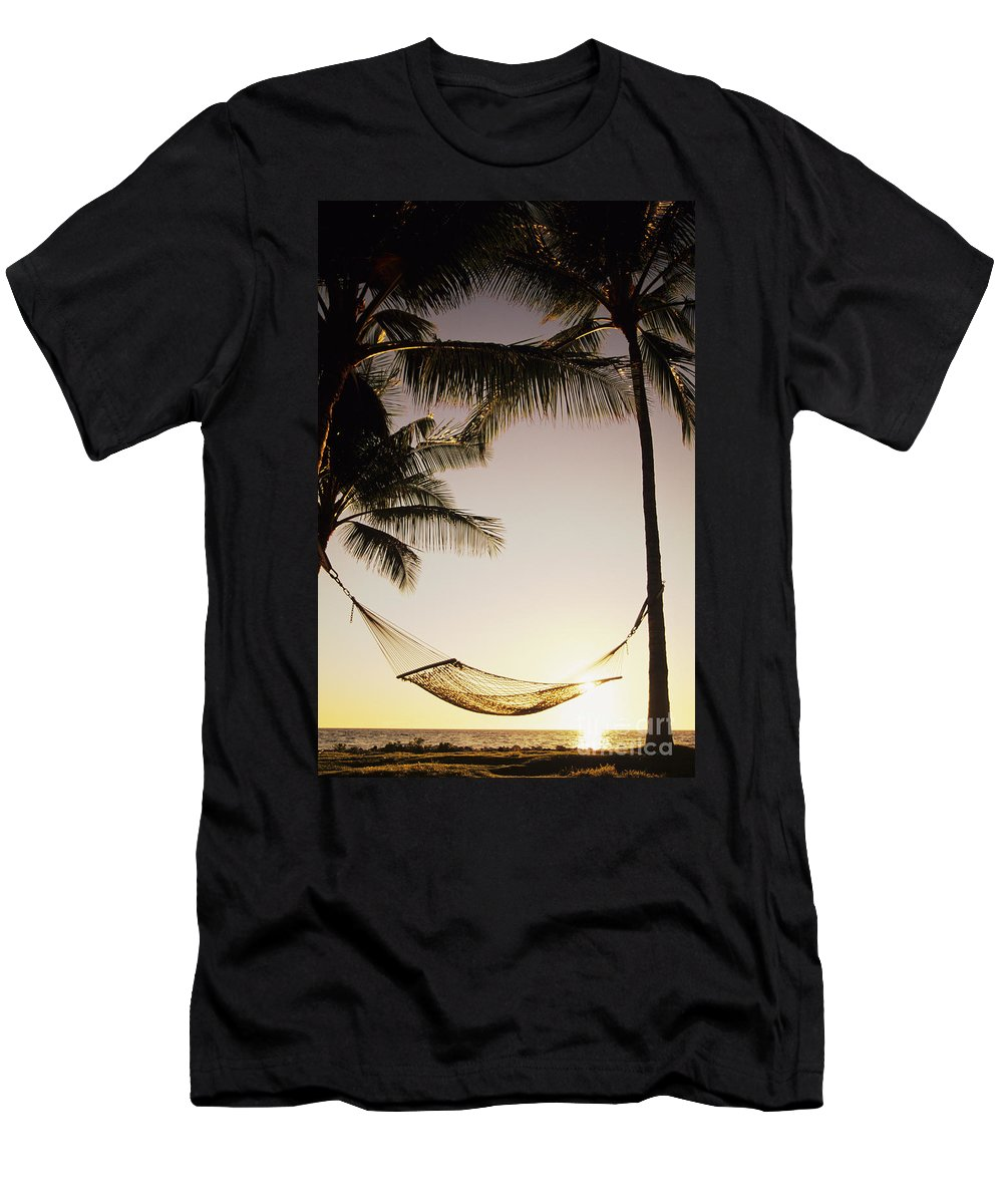 Attach Men's T-Shirt (Athletic Fit) featuring the photograph Hammock by Dana Edmunds - Printscapes