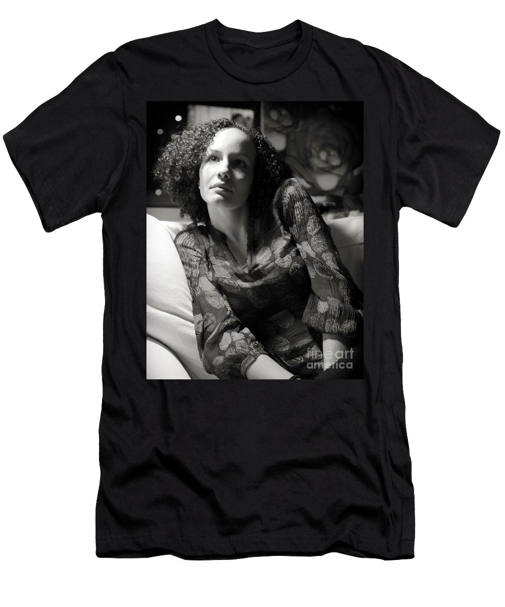 Woman Men's T-Shirt (Athletic Fit) featuring the photograph Hanna I by Madeline Ellis