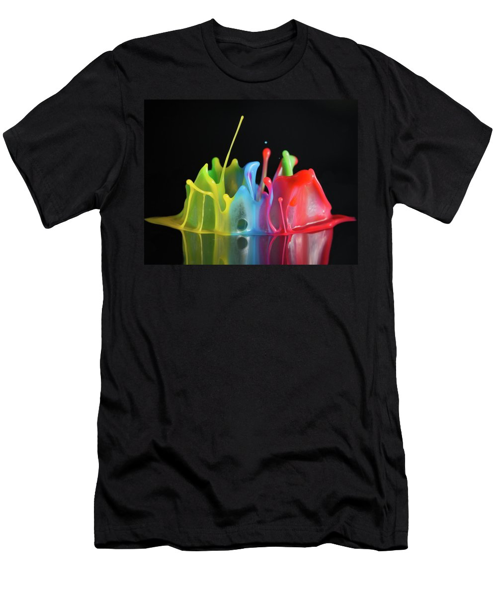 Macro Men's T-Shirt (Athletic Fit) featuring the photograph Happy Birthday by William Freebilly photography