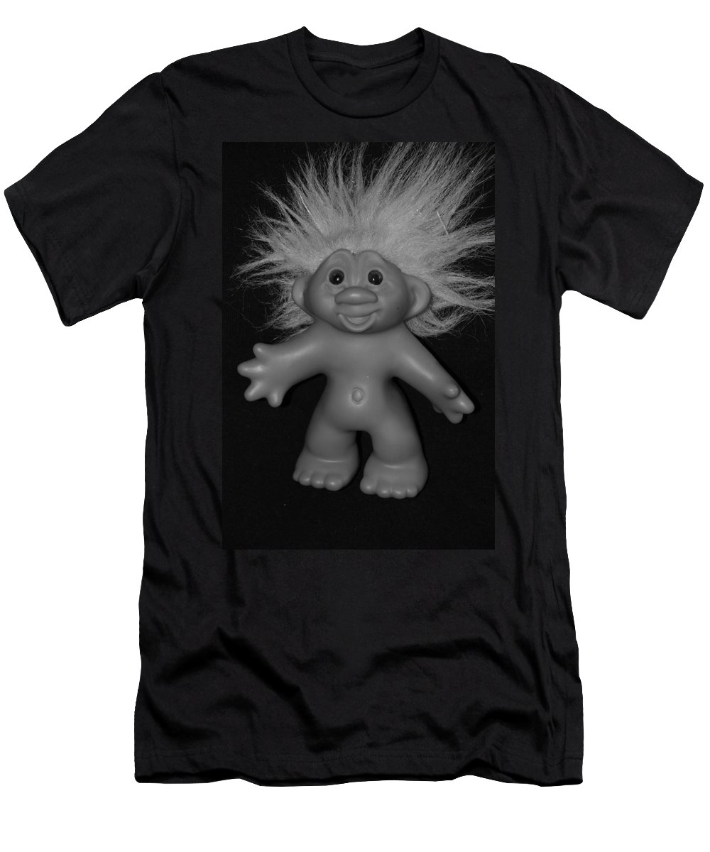 Happy Men's T-Shirt (Athletic Fit) featuring the photograph Happy Troll by Rob Hans