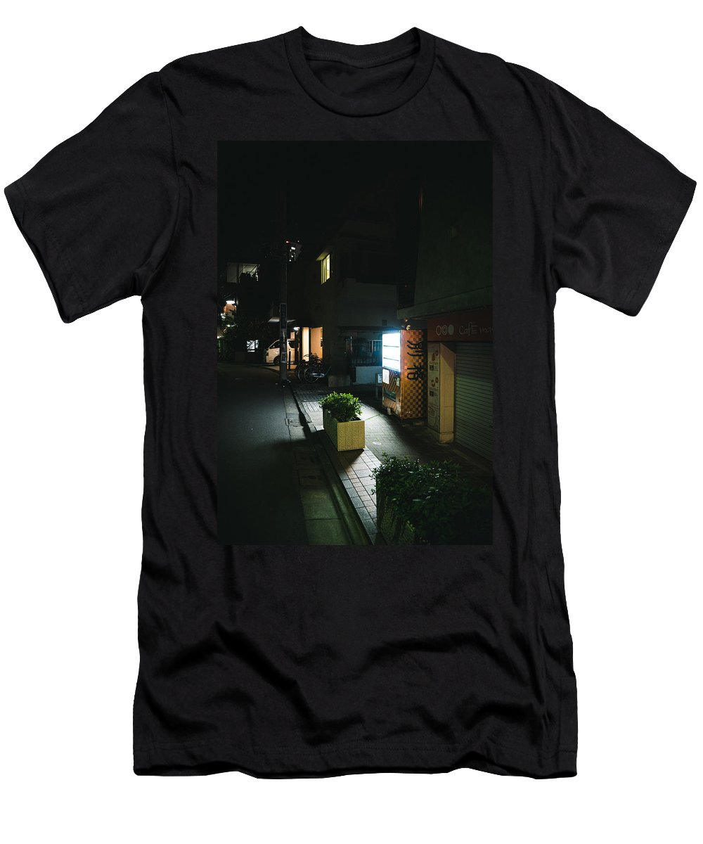 Japan Men's T-Shirt (Athletic Fit) featuring the photograph Harajuku Street by Jonathan Craft
