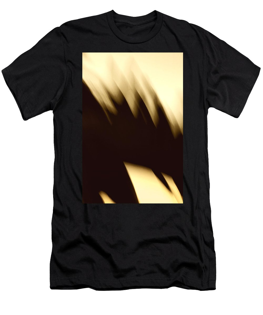 Landmark Men's T-Shirt (Athletic Fit) featuring the photograph Hard Ride by Dutch Bieber