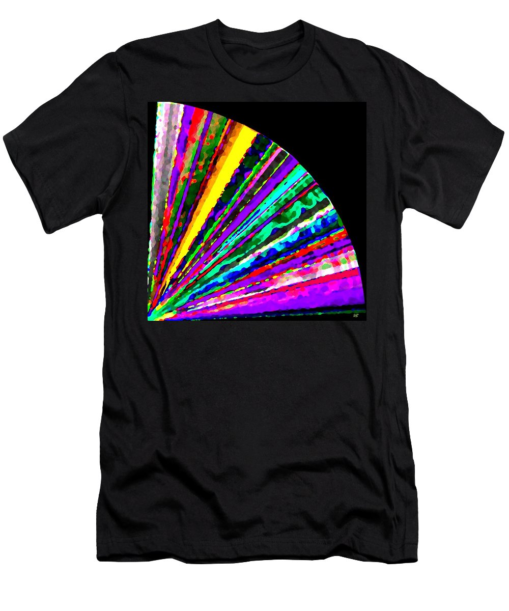 Abstract Men's T-Shirt (Athletic Fit) featuring the digital art Harmony 7 by Will Borden
