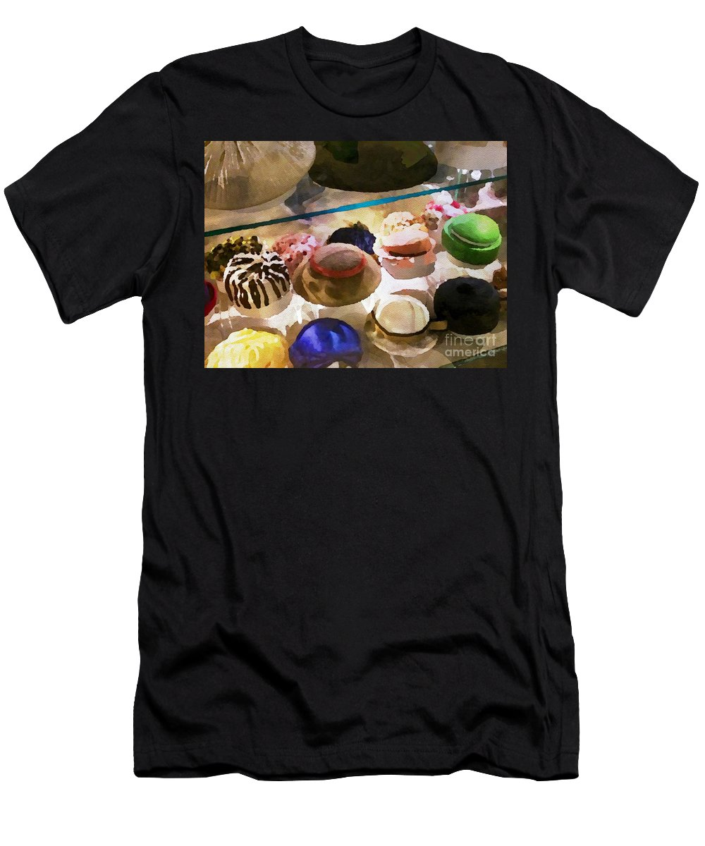 Vintage Men's T-Shirt (Athletic Fit) featuring the painting Hats In A Row by Jacklyn Duryea Fraizer
