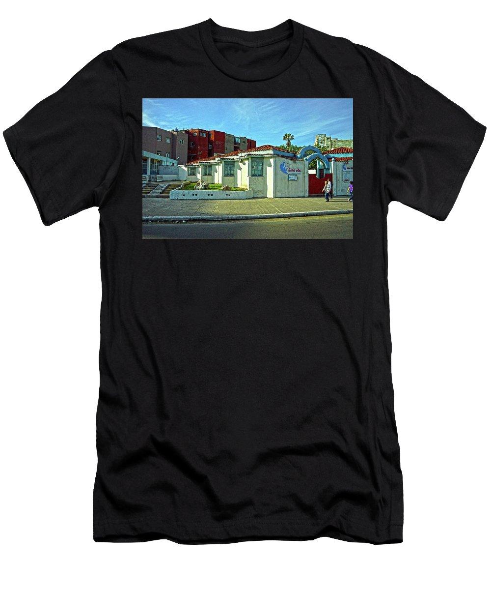Havana Men's T-Shirt (Athletic Fit) featuring the photograph Havana-50 by Rezzan Erguvan-Onal