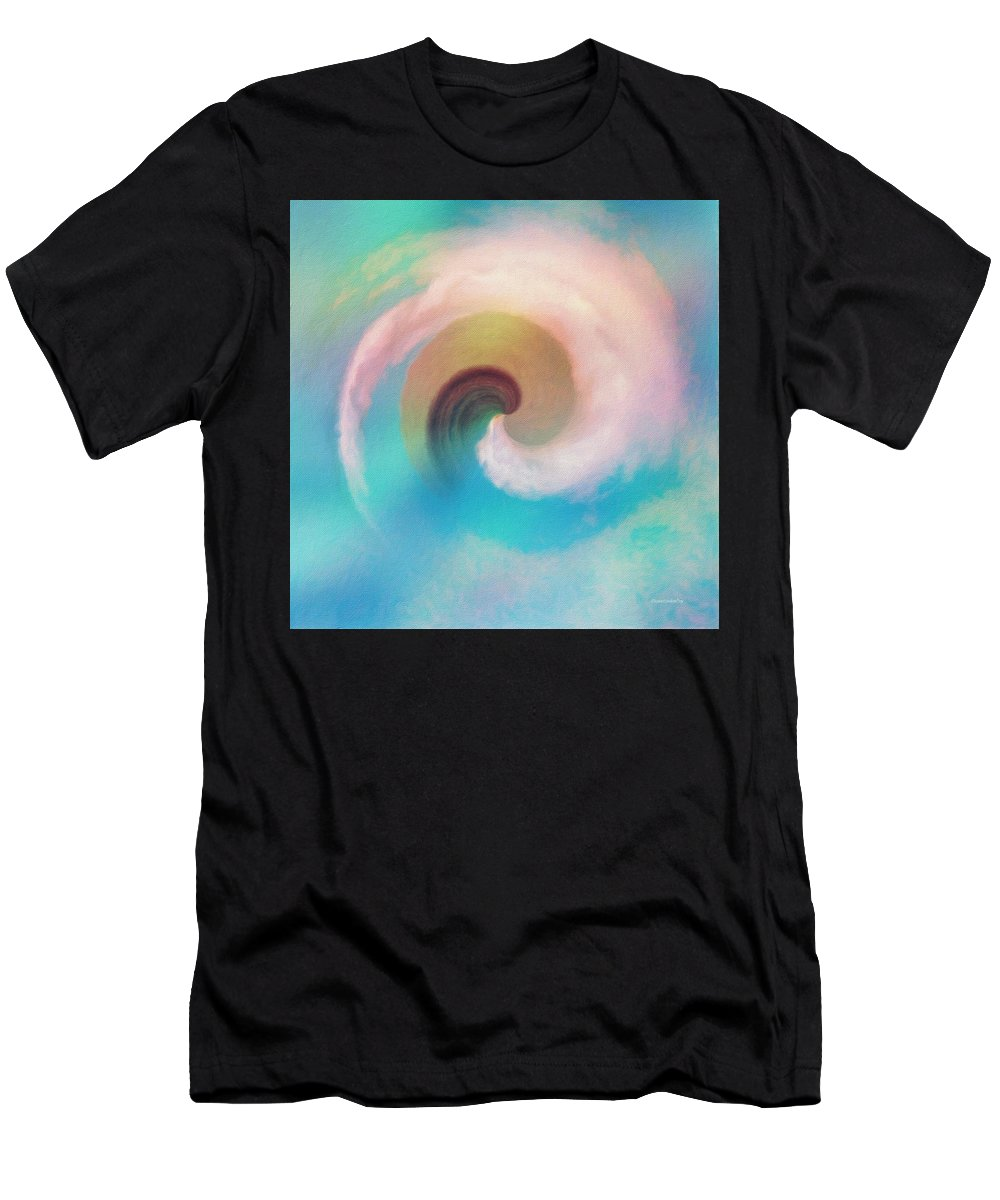 Hawaii Men's T-Shirt (Athletic Fit) featuring the photograph Hawaii Storm Not 2 by Diane Lindon Coy