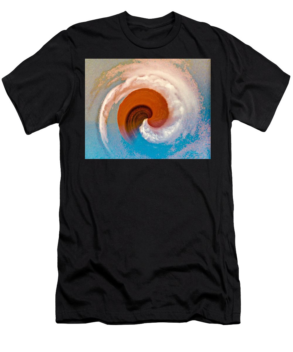 Hawaii Men's T-Shirt (Athletic Fit) featuring the photograph Hawaii Storm Not 4 by Diane Lindon Coy