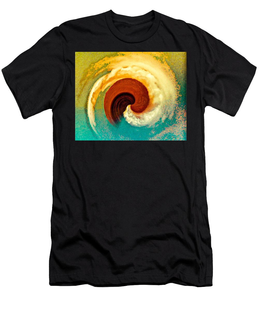 Hawaii Men's T-Shirt (Athletic Fit) featuring the photograph Hawaii Storm Not 5 by Diane Lindon Coy