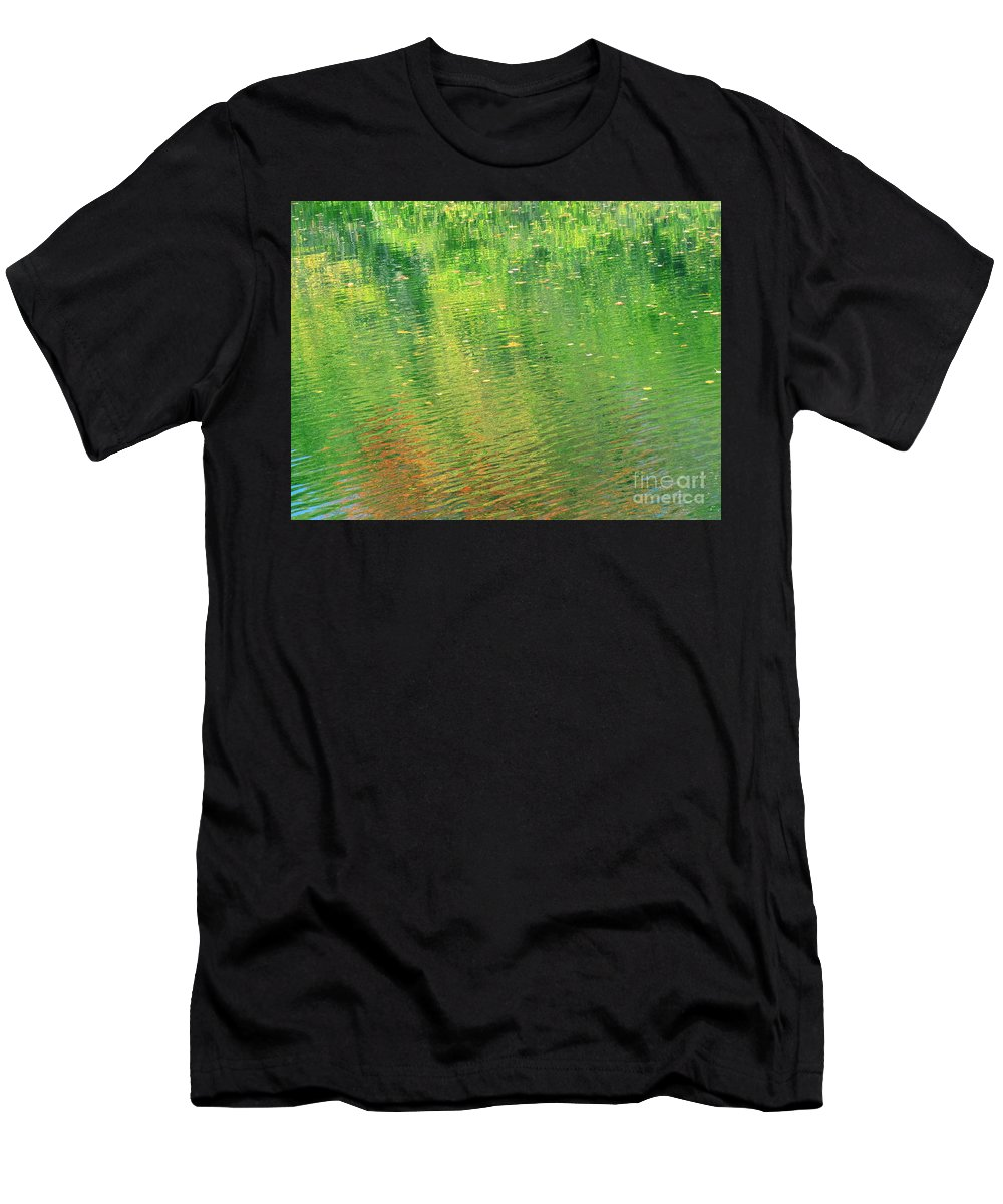 Water Men's T-Shirt (Athletic Fit) featuring the photograph Healing In All Forms by Sybil Staples