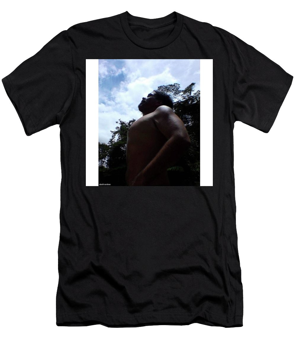 Body Men's T-Shirt (Athletic Fit) featuring the photograph Heart, Soul And by David Cardona