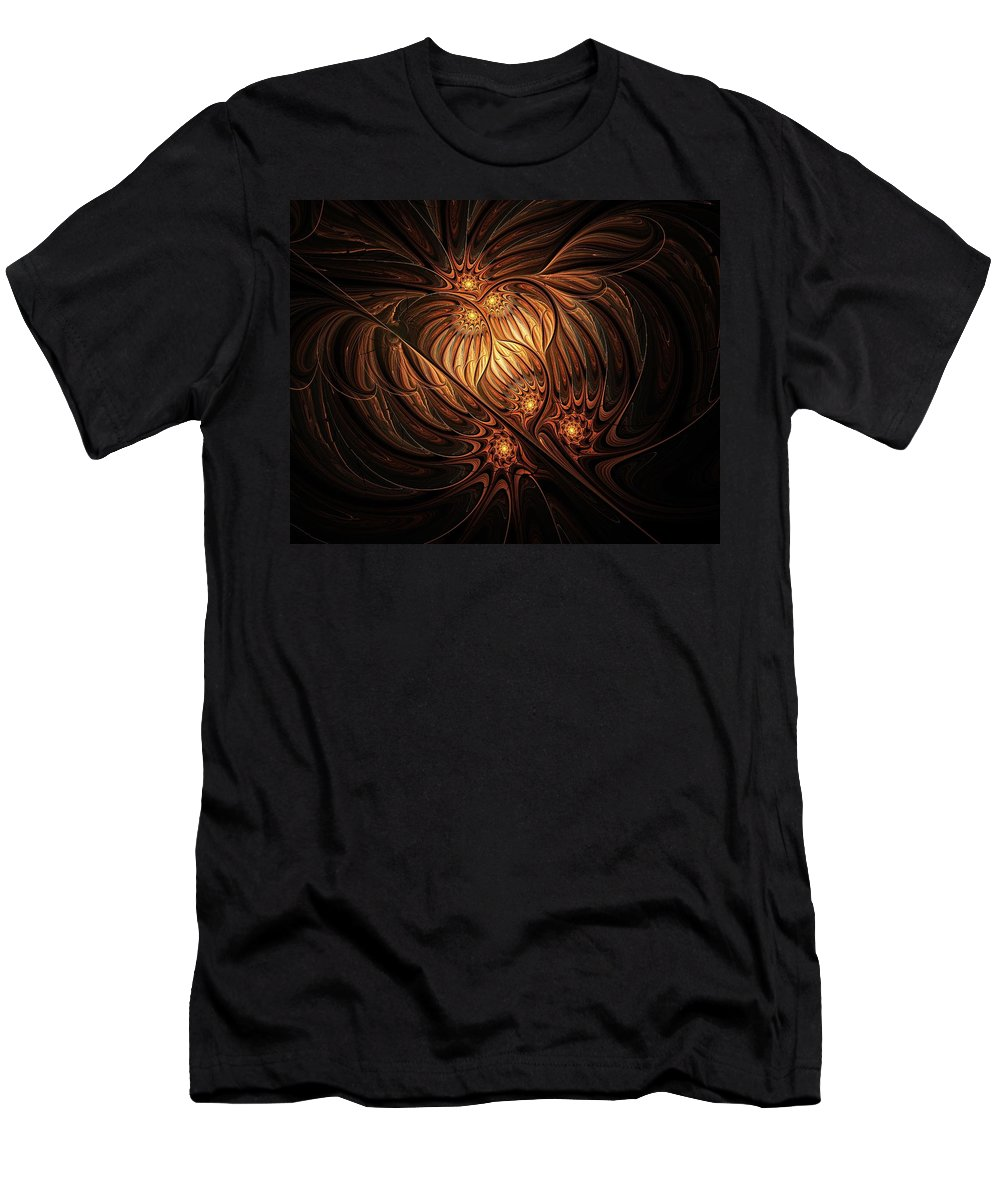 Digital Art T-Shirt featuring the digital art Heavenly Onion by Amanda Moore