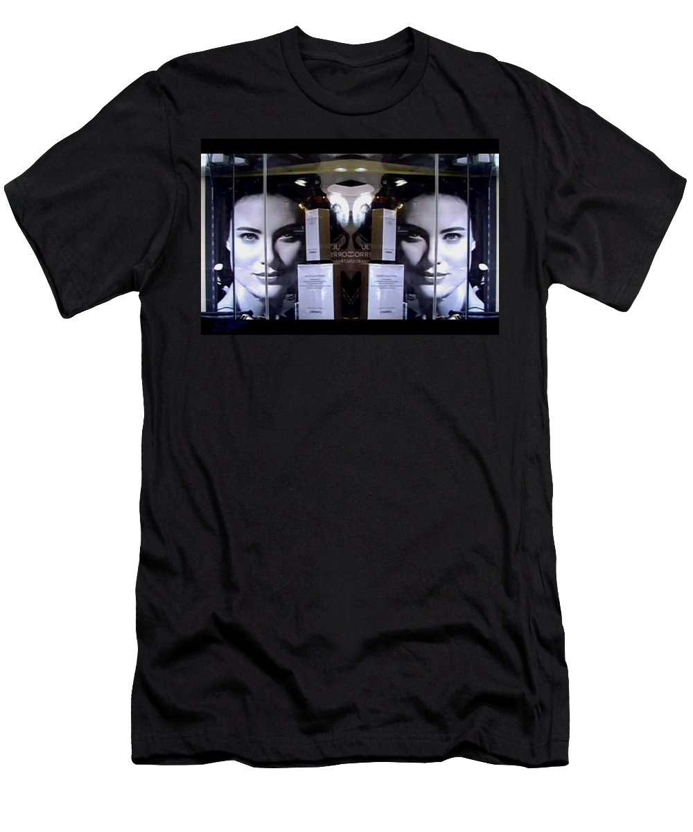 Dream Men's T-Shirt (Athletic Fit) featuring the photograph Here by Charles Stuart