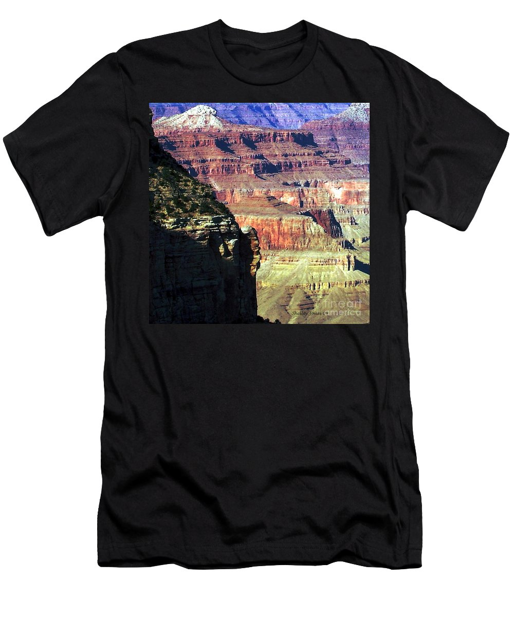 Photograph Men's T-Shirt (Athletic Fit) featuring the photograph Heritage by Shelley Jones