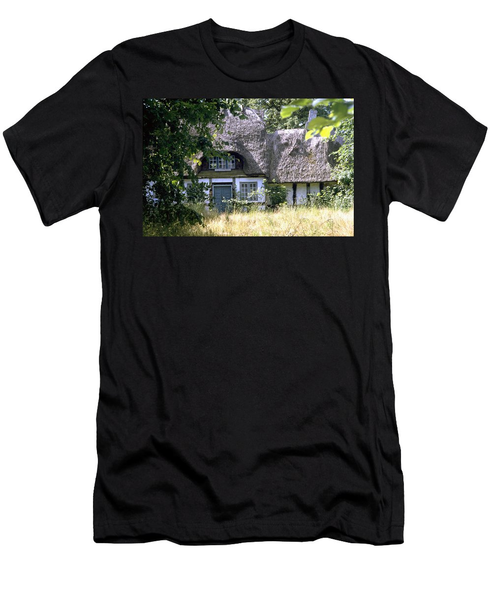 Denmark Men's T-Shirt (Athletic Fit) featuring the photograph Hidden Beauty by Flavia Westerwelle