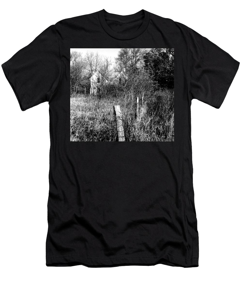 House Men's T-Shirt (Athletic Fit) featuring the photograph Hidden by Julie Hamilton