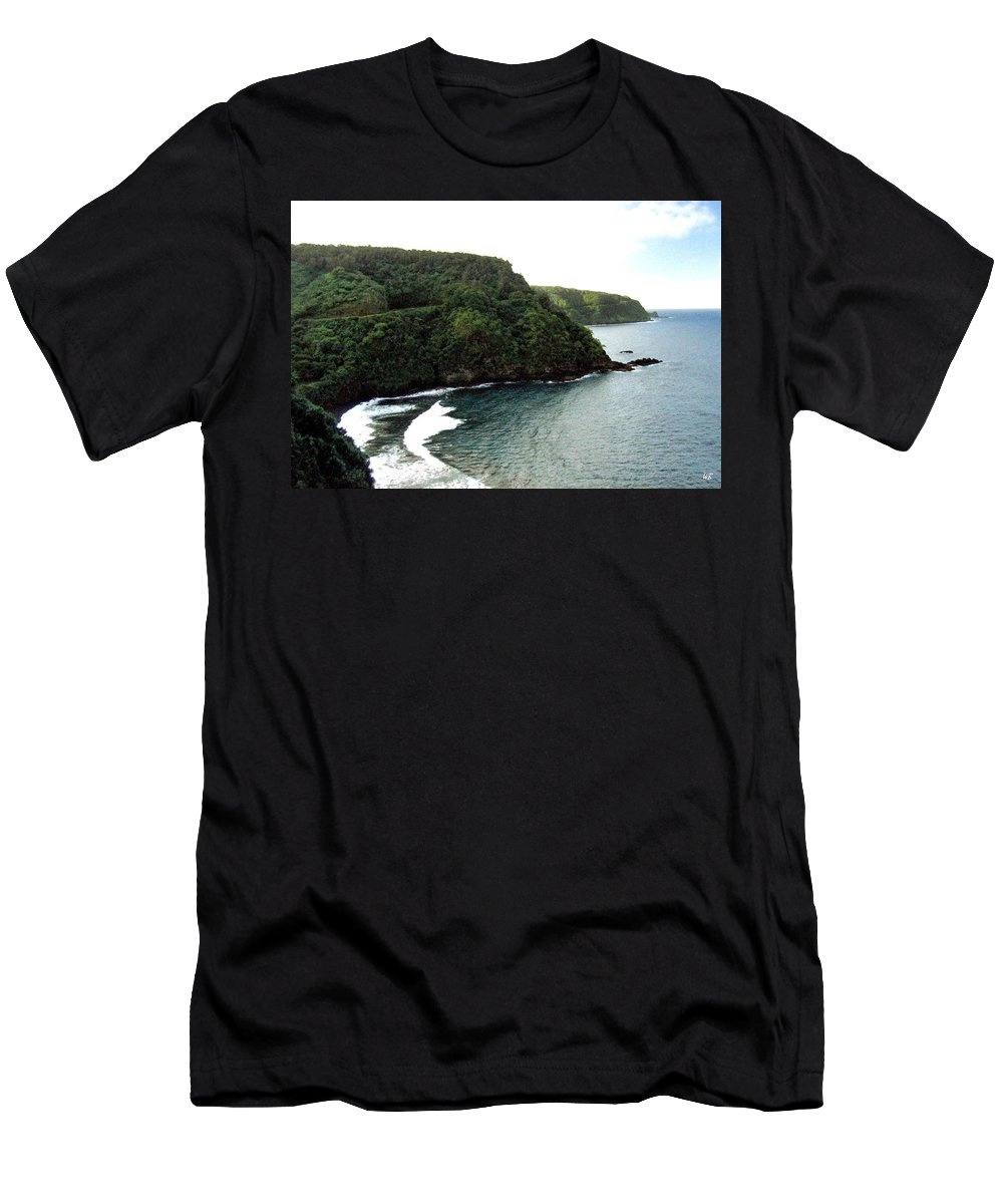 1986 Men's T-Shirt (Athletic Fit) featuring the photograph Highway To Hana by Will Borden