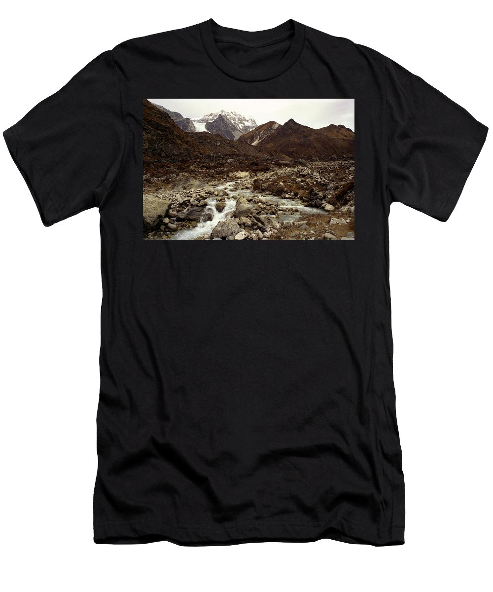 Himalaya Men's T-Shirt (Athletic Fit) featuring the photograph Himalaya by Patrick Klauss