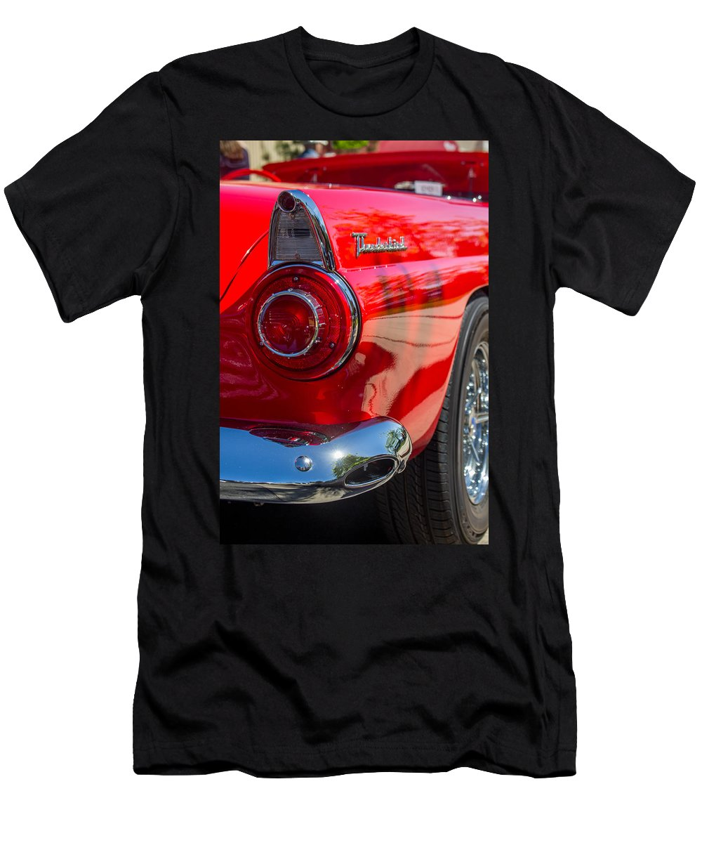 Car Show Men's T-Shirt (Athletic Fit) featuring the photograph Hind Quarter by Marnie Patchett